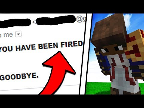 I GOT FIRED FROM MY OWN MINECRAFT SERVER! (Minecraft Trolling)