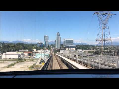 Train Ride To Vancouver International Airport | TUESDAY
