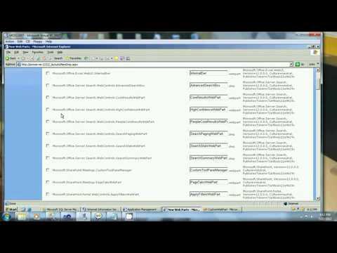 Creating Custom WebPart in MOSS 2007