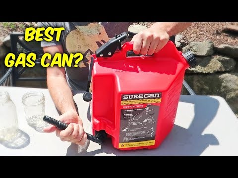 What is SureCan Gas Can?