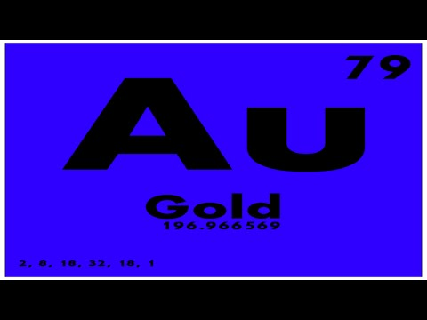 STUDY GUIDE: 79 Gold | Periodic Table of Elements