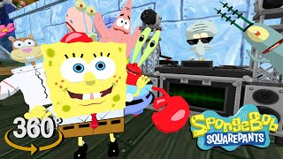 Spongebob Squarepants! - 360° Dance Party 2! - (The First 3D VR Game Experience!)