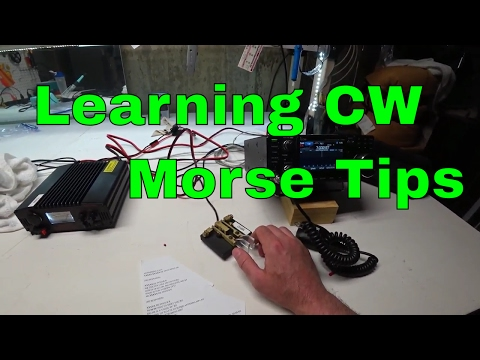Learning CW (Morse Code) Tips for Amateur Ham Radio