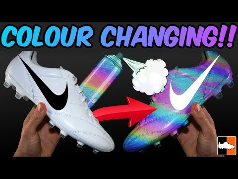 Unbelievable Nike Boot!! Custom Colour Changing Soccer Cleats