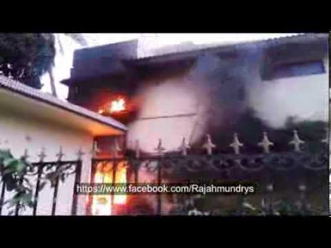 Fire accident in Rajahmundry (Danavaipet)
