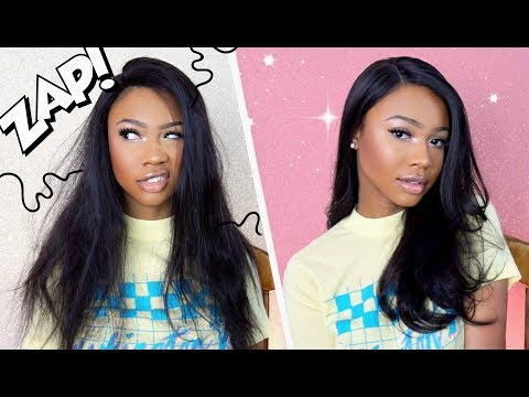 AFFORDABLE HUMAN HAIR WIG!! TRANSFORMATION WITH NITION | PUDDINGHAIR