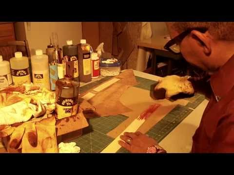How To Make A Leather Tote Bag With A Fabric Lining Part 6