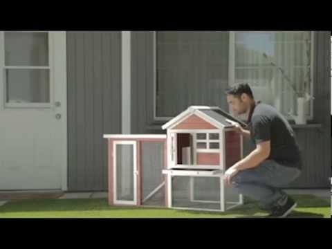 The Stilt House Rabbit Hutch | rabbit cage | rabbit hutch indoor