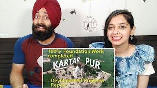 Indian Reaction on Kartarpur Corridor Development Progress Report,100% Foundation Work completed