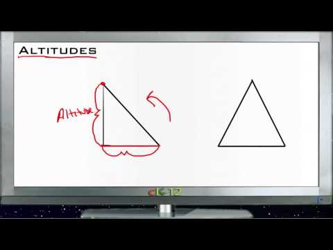 Altitudes: Examples (Basic Geometry Concepts)