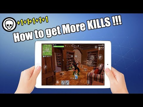 How to get More Kills in Fortnite Mobile