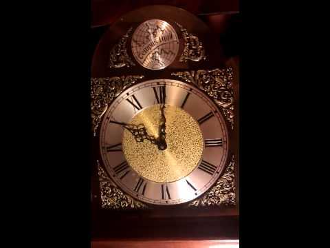 tempus fugit grandfather clock now running