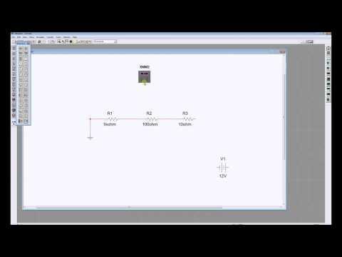 Simulate a Series Circuit in Multisim