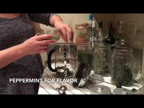 How to make an herbal infusion - Fertility Tea