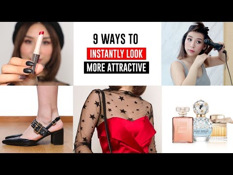9 Ways To Look Instantly More Attractive - Tips and Tricks