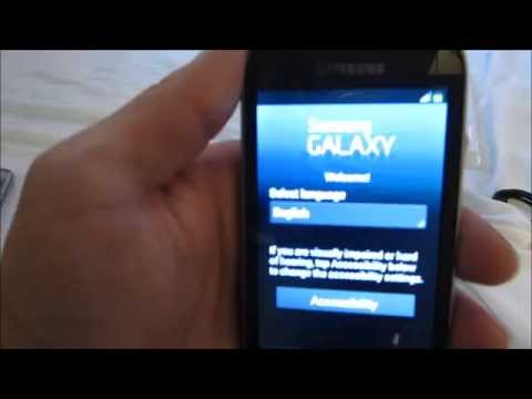 Samsung Galaxy Stardust Tracfone Unboxing