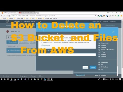 How to Delete an S3 Bucket  and Files    Curious Abeey