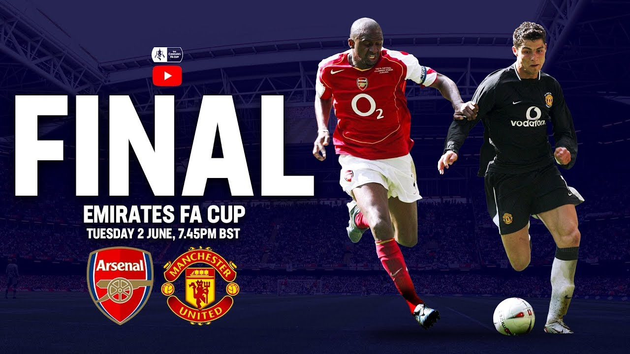 Arsenal 0-0 Manchester United (5-4 on pens)   Full Match   2005 Final   FA Cup 2004/05