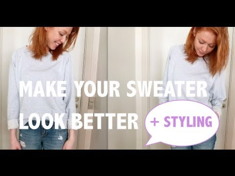 Make Your Sweater Look Better + Complete Look