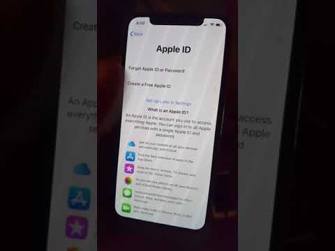 AT&T IPHONE X ICLOUD REMOVAL & FACTORY UNLOCK PT2