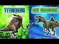 Non Hybrid Draft Tournament Round 1: TTTheseus VS. AceDragoon!   Jurassic World Alive