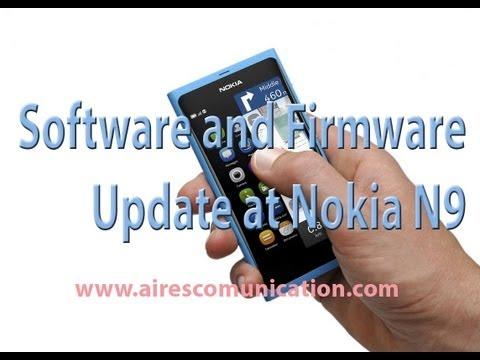 Software & Firmware update in Nokia N9