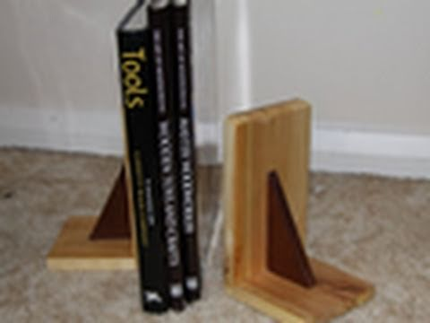 Hand Tool Woodworking - Book Ends
