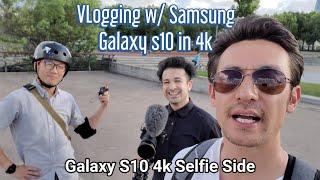 Galaxy S10 4k: Electric Skateboarding in Shanghai (Eboard Breaks + Wipe Out)