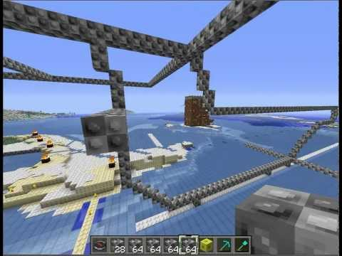 how i build a starship in minecraft part 1