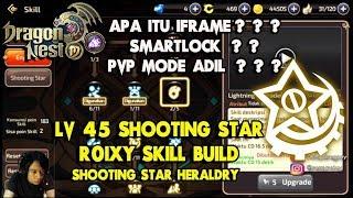 SHOOTING STAR SKILL BUILD AND SET LVL 60 CAP CONTINOUSLY