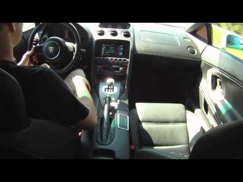 Lamborghini Gallardo Inside Ride (6 speed gated shifter)