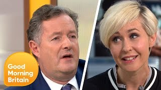 Piers Gets in a Furious Debate on Whether or Not Men Can Be Mothers   Good Morning Britain