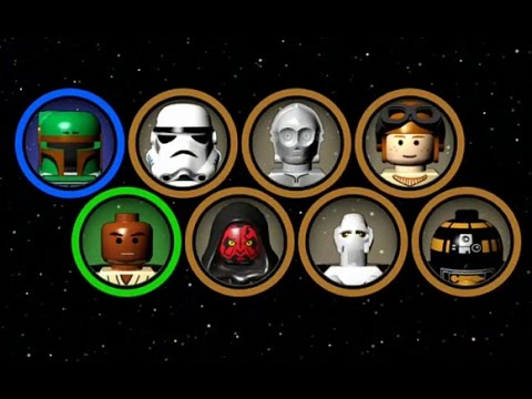 LEGO Star Wars: The Complete Saga - Blue Minikit Guide #11 - Chapters 1-3 (Episode VI)