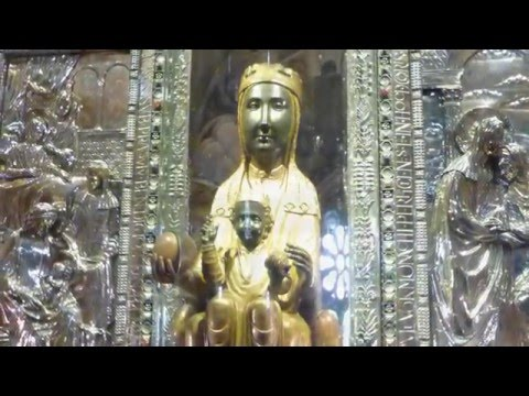 SPAIN - MONTSERRAT tour & CAVA from Barcelona 2015 with K & J  in HD