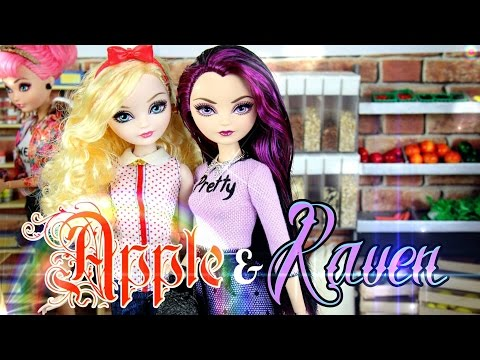 DIY - Custom Doll: After Ever After High - Apple & Raven - FASHION - Handmade - Doll - Crafts