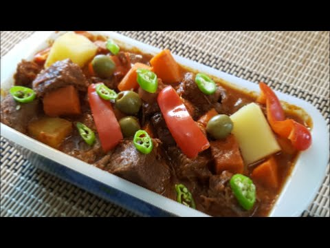 Beef Caldereta Recipe (Filipino Food) Most Delicious version!