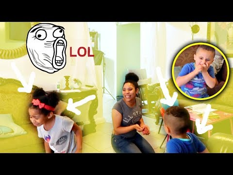 Mommy Eating Flies Prank On 3 Year Old Kids *THEY FREAK OUT!*