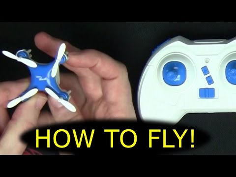 How To Fly Any Quadcopter Nano Drone Multi-Rotor