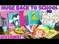 (CLOSED) HUGE BACK TO SCHOOL GIVEAWAY 2016! | MILCARHODES