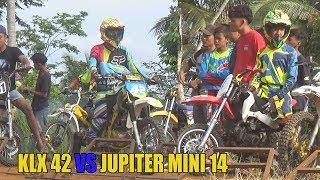 MUSTAHIL!! JUPITER MINI mengalahkan KLX tapi ternyata