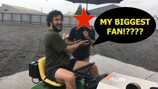 IS THIS MY BIGGEST FAN? Vlog 019
