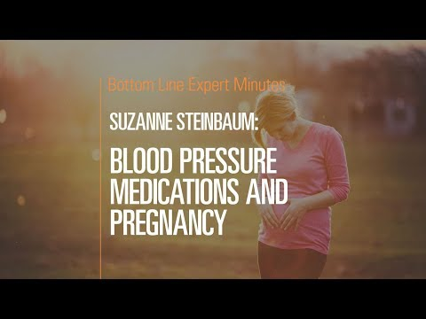 Blood Pressure Medications and Pregnancy
