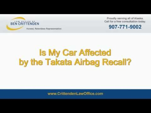 Is My Car Affected by the Takata Airbag Recall?