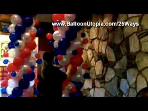 How to Make an Atomic Balloon Column