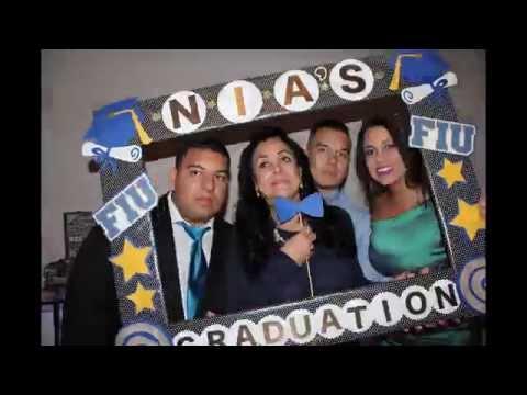 Nia's Graduation 2015 - Photo booth Timelapse - FIU