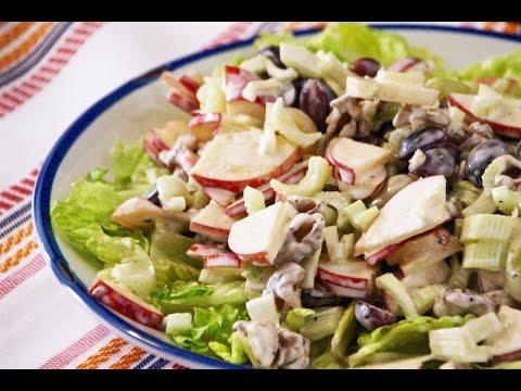How to make simple Waldorf Salad