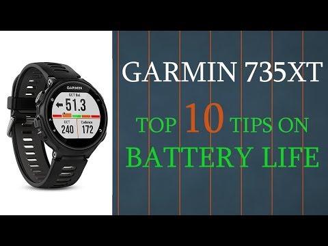 Garmin 735XT , 935 , Fenix 5 || Top 10 Tips on Battery Life