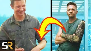 Avengers: Endgame Time Travel Explained By Hawkeye's Tattoos