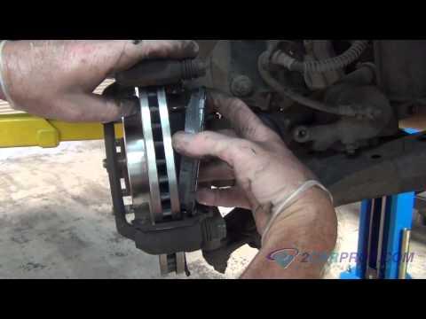Front Brake Pads & Rotors Replacement Kia Sportage 2004-2010