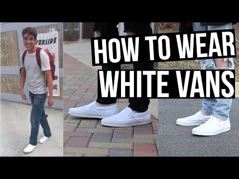 DAMN DANIEL | How To Style White Vans